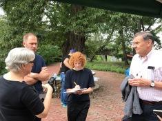 Pam Beale, Dan Adams, Marie Law Adams and Jim Latimer