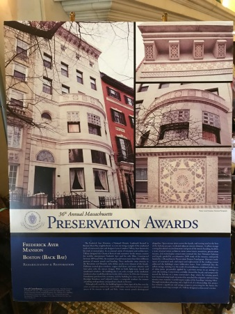 Information about the Frederick Ayer Mansion