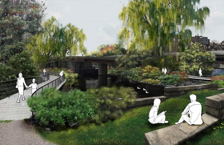 Proposed Bowl and Bridge